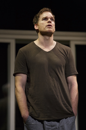 <p>Michael C. Hall stars as John Jones.</p><br />(© Joan Marcus)