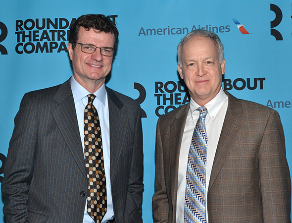 <p>Michael Cumpsty and Reed Birney are Roundabout veterans, having appeared in the theater company&#39&#x3B;s recent productions of <em>Machinal</em> and <em>Picnic</em>, respectively.</p><br />(© David Gordon)