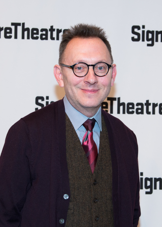 <p>Michael Emerson stars in <em>Wakey, Wakey</em>, also in performance at Signature Theatre.</p><br />(© Allison Stock)