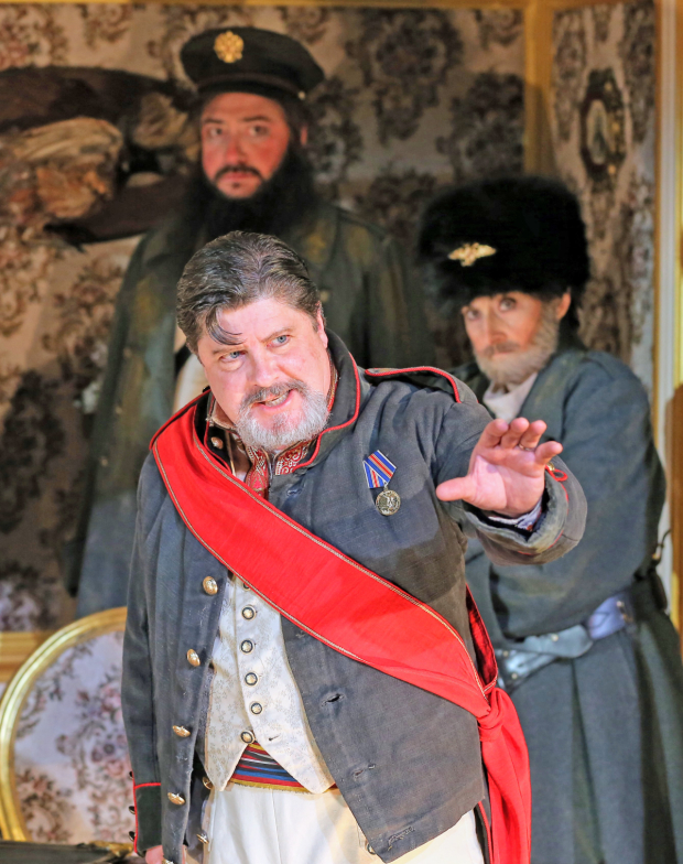 <p>Michael McGrath stars as the Mayor.</p><br />(© Carol Rosegg)