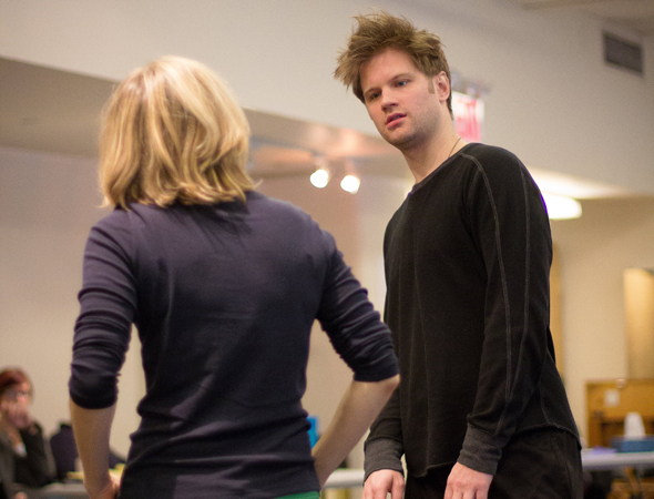 <p>Michael Oberholtzer plays Timmy.</p><br />(photo courtesy of MCC Theater)