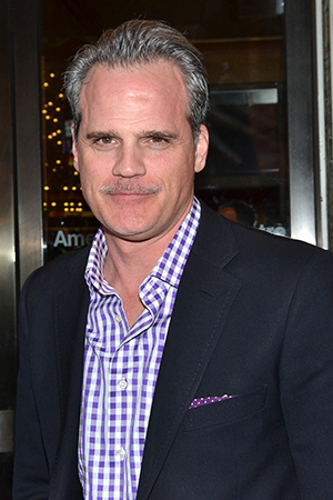 <p>Michael Park is always ready to see a Broadway show.</p><br />(© David Gordon)