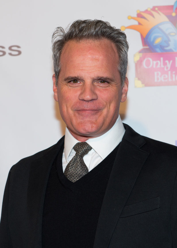 <p>Michael Park stopped for a photo.</p><br />(© Allison Stock)