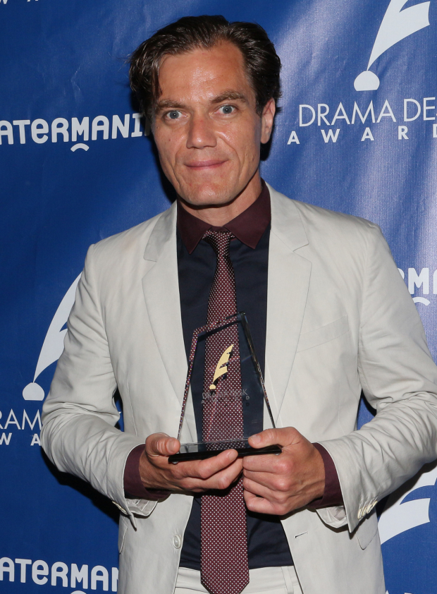 <p>Michael Shannon, Outstanding Featured Actor in a Play winner, <em>Long Day&#39&#x3B;s Journey Into Night</em>.</p>