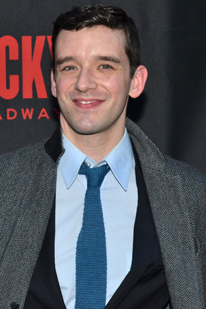 <p>Michael Urie spends his night off from <em>Buyer &amp&#x3B; Cellar</em> at the opening of <em>Rocky</em> on Broadway.</p><br />(© David Gordon)