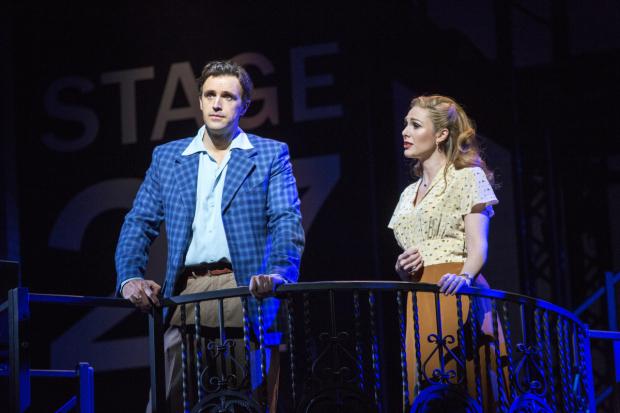 <p>Michael Xavier and star Siobhan Dillon as Joe Gillis and Betty Schaefer.</p><br />(© Joan Marcus)