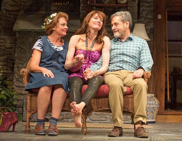 <p>Michele Pawk (Sonia), Carolyn McCormick