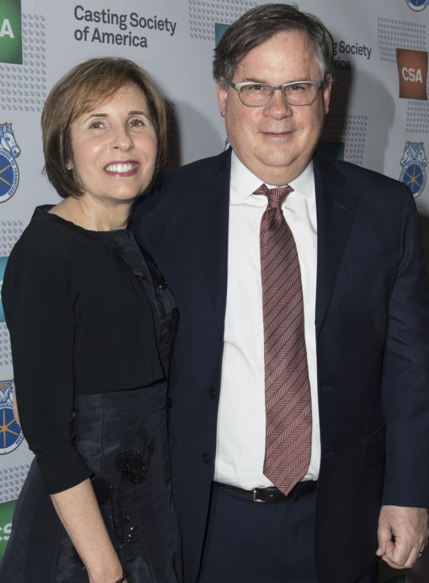 <p>Michelle and Robert King, creators of TV&#39&#x3B;s <em>The Good Wife</em>, were named 2016 New York Apple Award Honorees. </p><br />(© Allison Stock)