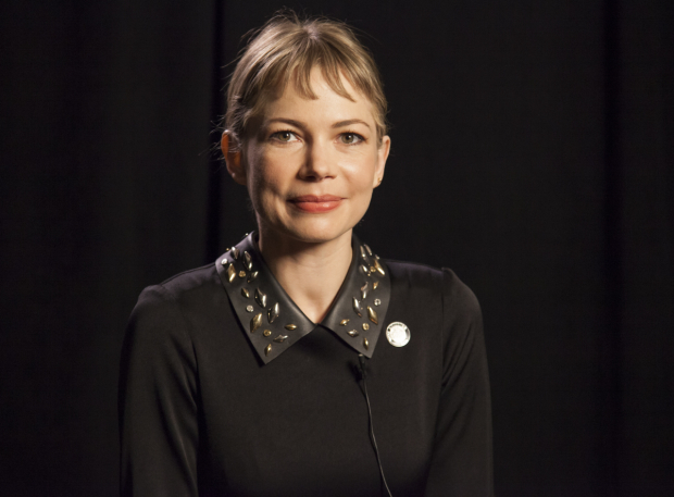<p>Michelle Williams receives her first Tony Award nomination for <em>Blackbird</em>.</p><br />(© Seth Walters)