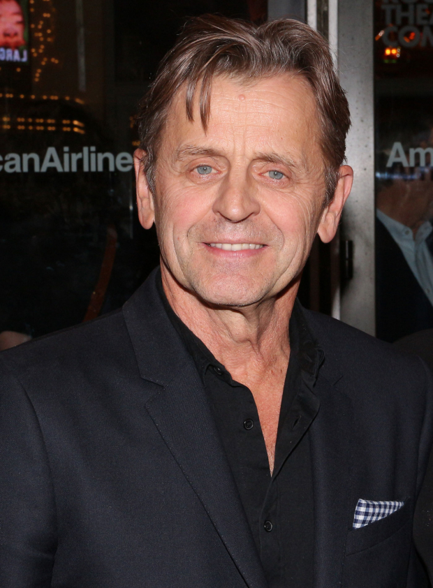 <p>Mikhail Baryshnikov is excited to see his daughter, Anna Baryshnikov, in <em>Time and the Conways</em>.</p><br />(© David Gordon)
