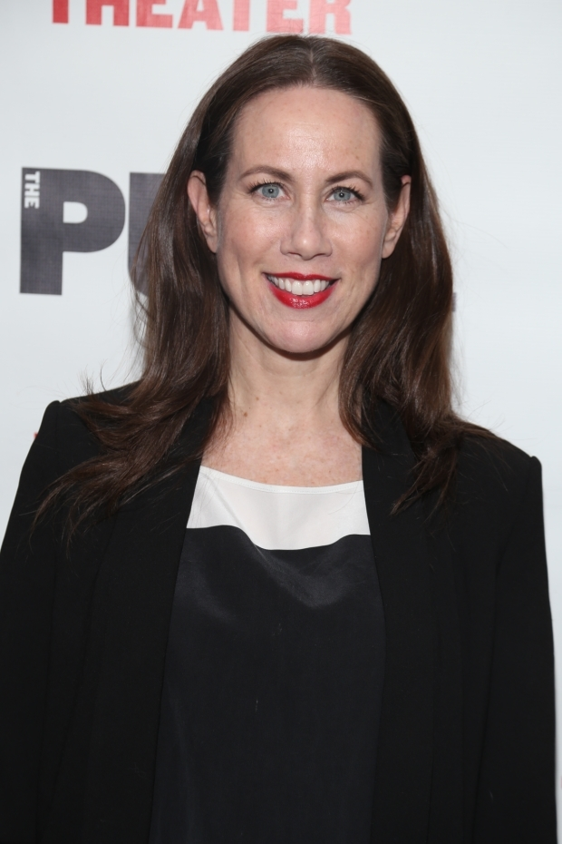 <p>Miriam Shor appeared at the Public Theater in <em>Sweat</em>.</p><br />(© Tricia Baron)