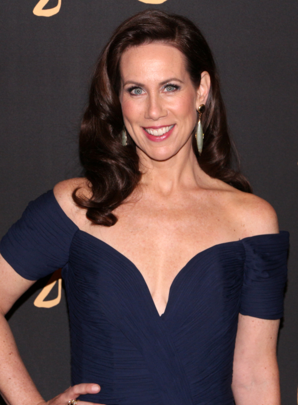 <p>Miriam Shor takes on the role of Diana Trout, the head of PR for the publishing house where Liza works.</p><br />(© David Gordon)