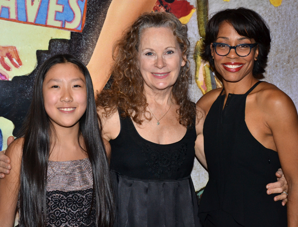 <p>Misha Seo, Lizbeth MacKay, and Karen Pittman complete the company.</p><br />(© David Gordon)