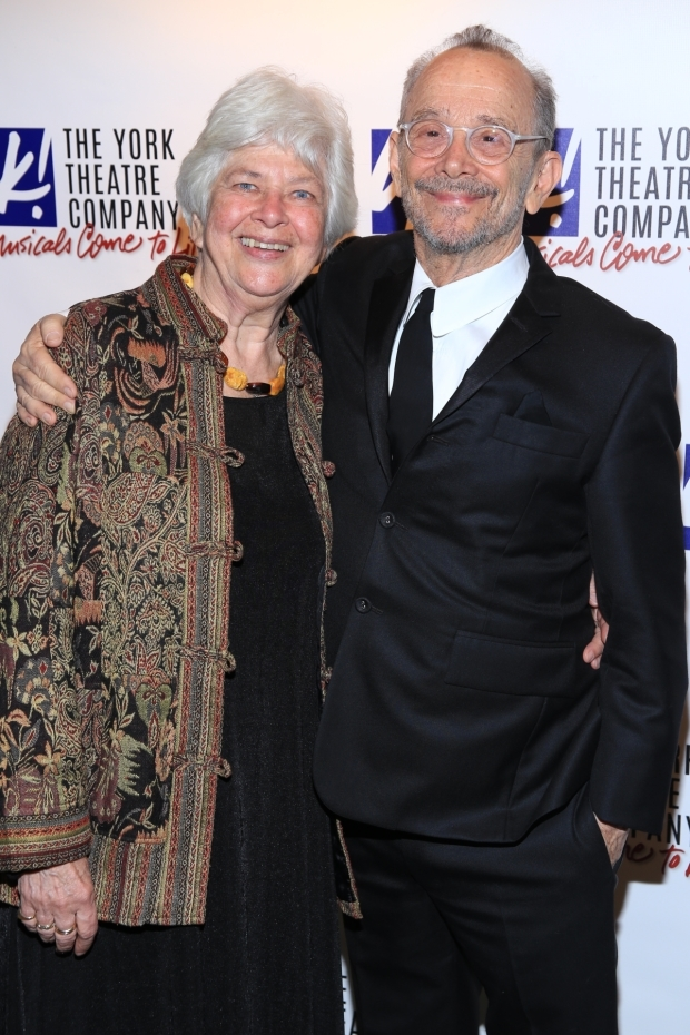 <p>Molly Pickering Grose and Joel Grey are honorees at the York Theatre Company&#39&#x3B;s gala.</p><br />(© Tricia Baron)
