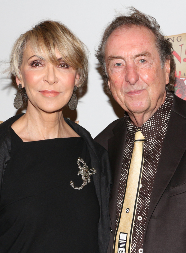 <p><em>Monty Python</em> icon Eric Idle (seen here with his wife, Tania) comes out in support of his <em>Spamalot</em> star, Christian Borle.</p><br />(© David Gordon)