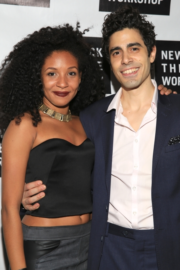 <p>Nabiyah Be and Damon Daunno take on the leading roles of Eurydice and Orpheus in <em>Hadestown</em>.</p><br />(© Tricia Baron)