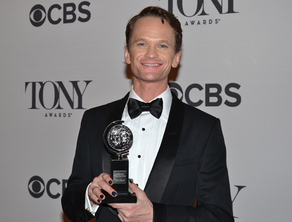 <p>Neil Patrick Harris, Best Actor in a Musical winner for his performance in <em>Hedwig and the Angry Inch</em>.</p><br />(© David Gordon)