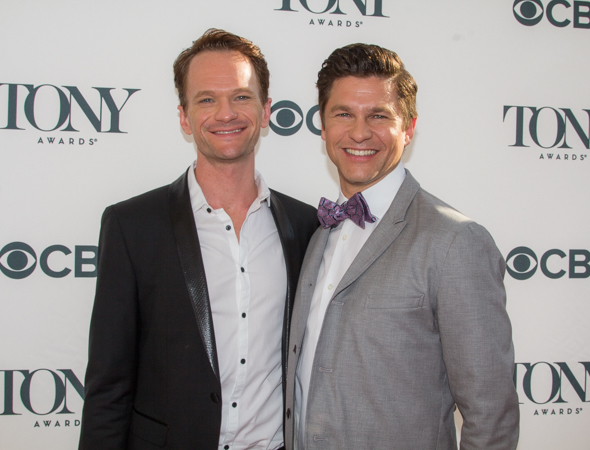 <p>Neil Patrick Harris (<em>Hedwig and the Angry Inch</em>) and fiancé David Burtka enjoy an evening out. </p><br />(© Seth Walters)