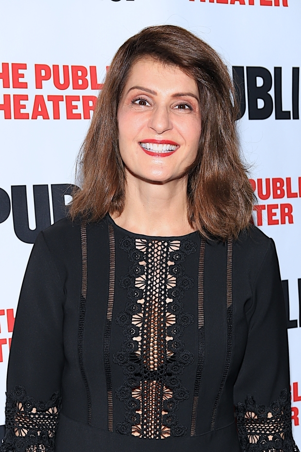 <p>Nia Vardalos makes her Public Theater debut in <em>Tiny Beautiful Things</em>.</p><br />(© Tricia Baron)