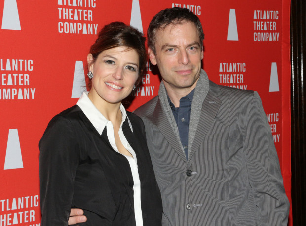 <p>Nicole Parker and Justin Kirk lead the cast of Rolin Jones&#39&#x3B; <em>These Paper Bullets!</em> at Atlantic Theater Company.</p><br />(© David Gordon)
