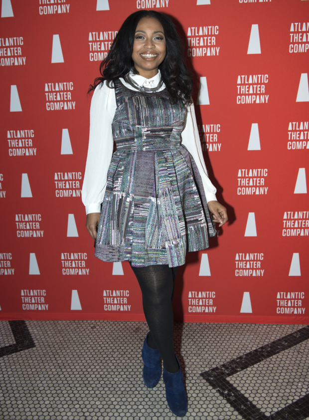 <p>Nikiya Mathis is thrilled to open in <em>Skeleton Crew</em>.</p><br />(© Allison Stock)