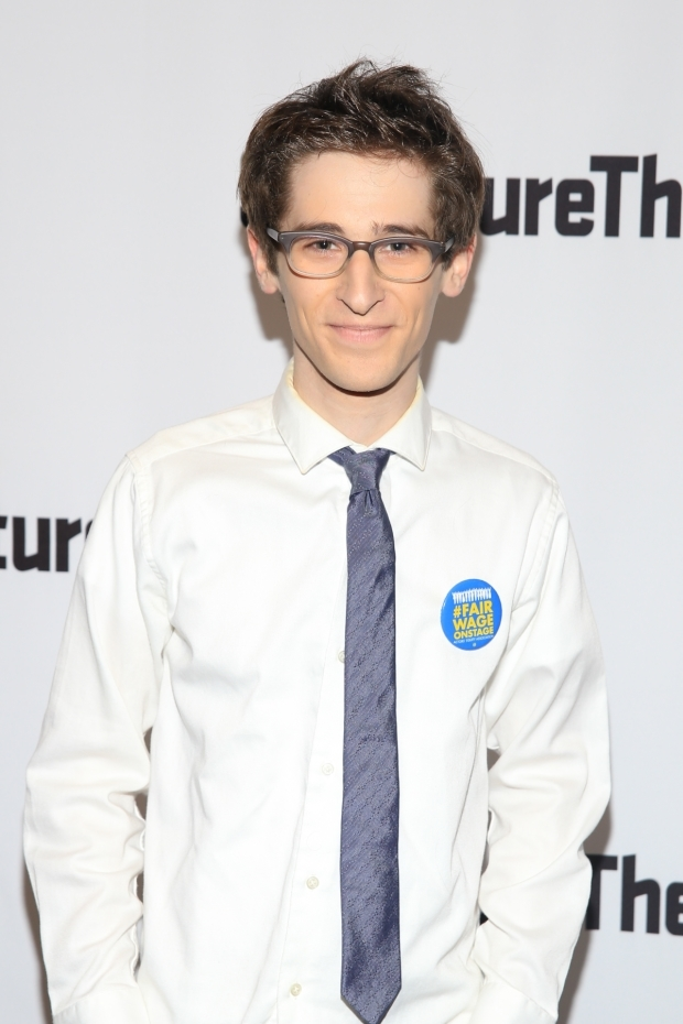 <p>Noah Robbins completes the cast as Hally.</p><br />(© Tricia Baron)