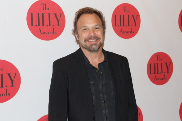 <p>Norbert Leo Butz is on hand to speak on behalf of the Angel Band Project.</p><br />(© David Gordon)