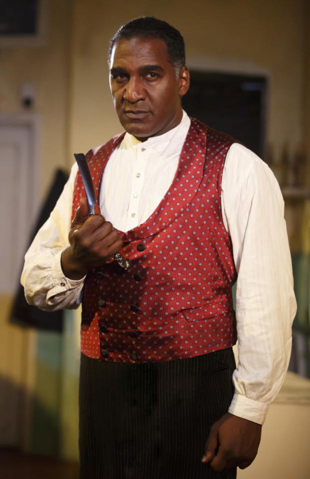 <p>Norm Lewis joined the cast on April 11.</p><br />(© Joan Marcus)