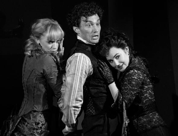 <p>O&#39&#x3B;Hare and Pinkham play opposite Lauren Worsham, who makes her Broadway debut in the role of Phoebe D&#39&#x3B;Ysquith.</p><br />(© David Gordon)