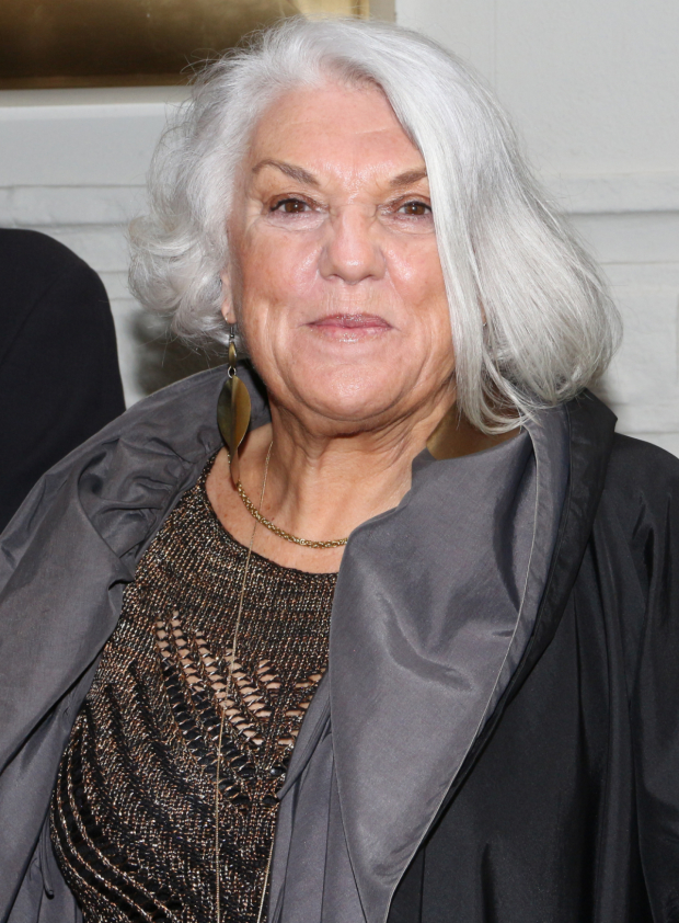 <p>On her off night from <em>It Shoulda Been You</em>, Tyne Daly checks out the latest Broadway play.</p><br />(© David Gordon)