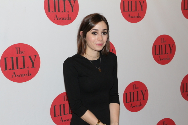 <p><em>Once</em> and <em>Lazarus</em> star Cristin Milioti walks the red carpet.</p><br />(© David Gordon)