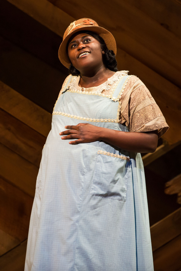<p><em>Orange Is the New Black</em> favorite Danielle Brooks takes on the role of Sofia.</p><br />(© Matthew Murphy)