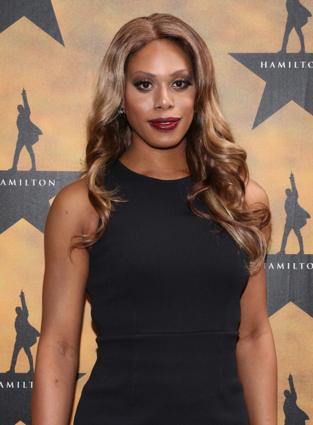 <p><em>Orange Is the New Black</em> star Laverne Cox looks stunning as she poses for photos.</p><br />(© David Gordon)