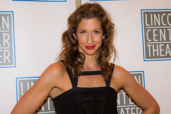 <p><em>Orange Is the New Black</em>&#39&#x3B;s Alysia Reiner strikes a pose for TheaterMania.</p><br />(© Seth Walters)