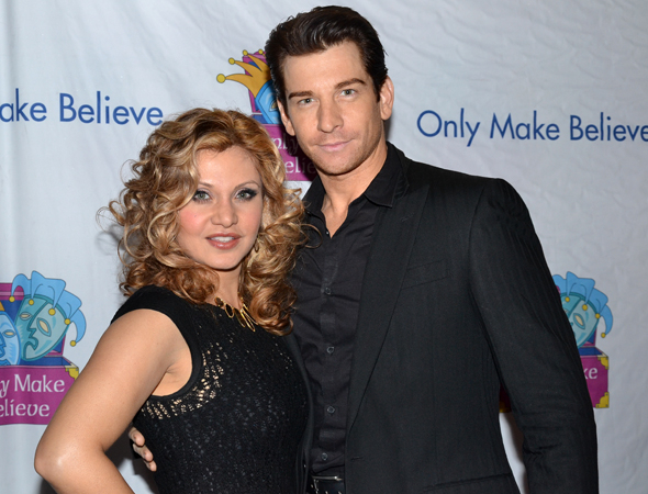 <p>Orfeh and Andy Karl are excited to take part in the Only Make Believe gala.</p><br />(© David Gordon)