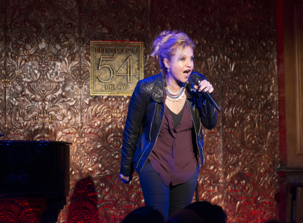 <p>Orfeh brings down the house at Feinstein&#39&#x3B;s/54 Below.</p><br />(© Allison Stock)