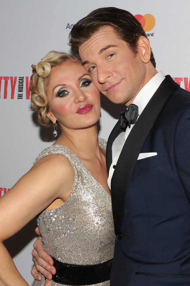 <p>Orfeh plays Kit, opposite her husband, Andy Karl, as Edward.</p><br />(© David Gordon)