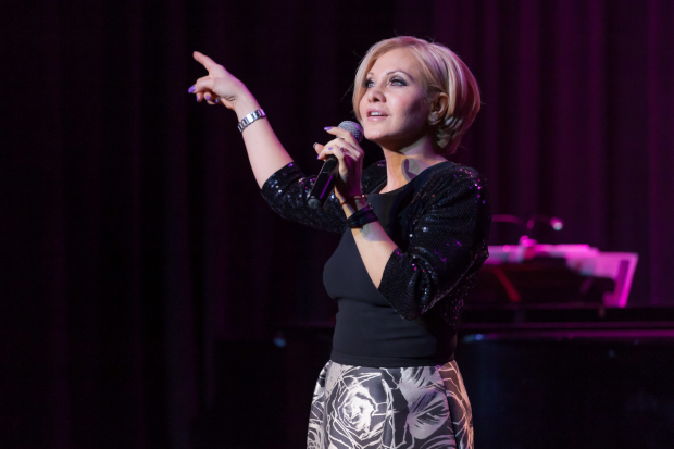 <p>Orfeh wowed the audience with a tune from <em>The Great American Trailer Park Musical</em>.</p><br />(© Seth Walters)
