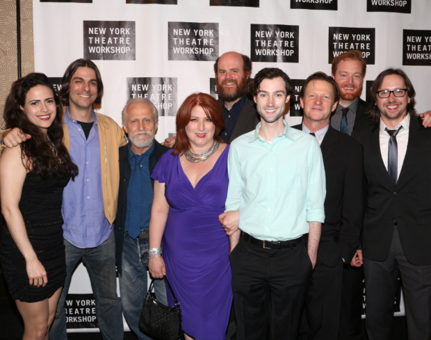 <p>Original cast members from Broadway&#39&#x3B;s <em>Once</em> pay tribute to the designer who won a Tony for the show&#39&#x3B;s set.</p><br />(© David Gordon)