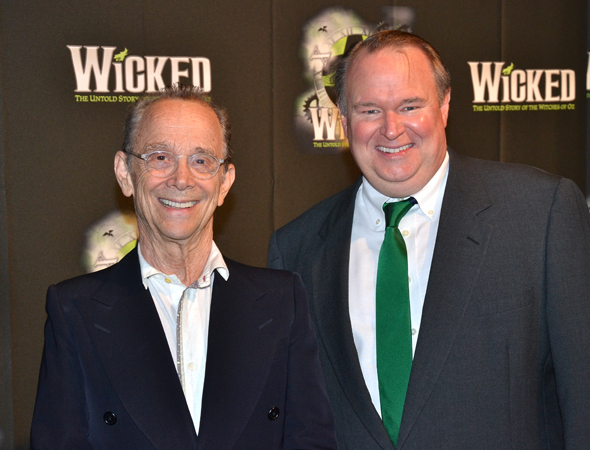 <p>Original Wizard Joel Grey meets the role&#39&#x3B;s current player, Tom McGowan.</p><br />(© David Gordon)
