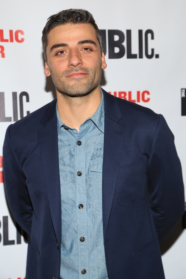 <p>Oscar Isaac plays the title role in <em>Hamlet</em>.</p><br />(© Tricia Baron)