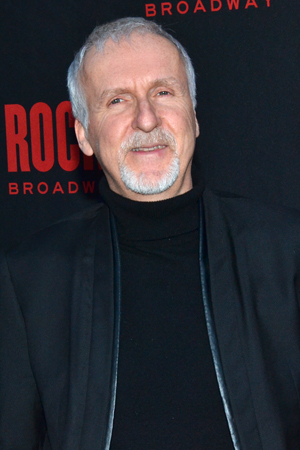 <p>Oscar-winning film director James Cameron shows up to support his friends involved with <em>Rocky</em>.</p><br />(© David Gordon)