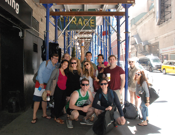 <p>Our beautiful cast and more are all smiles on OPENING DAY!</p>