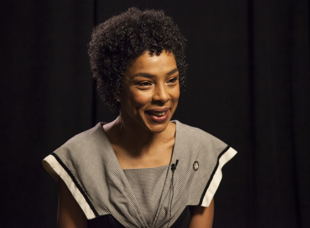 <p>Past Tony winner Sophie Okonedo is up for Best Leading Actress in a Play for <em>The Crucible</em>.</p><br />(© Seth Walters)