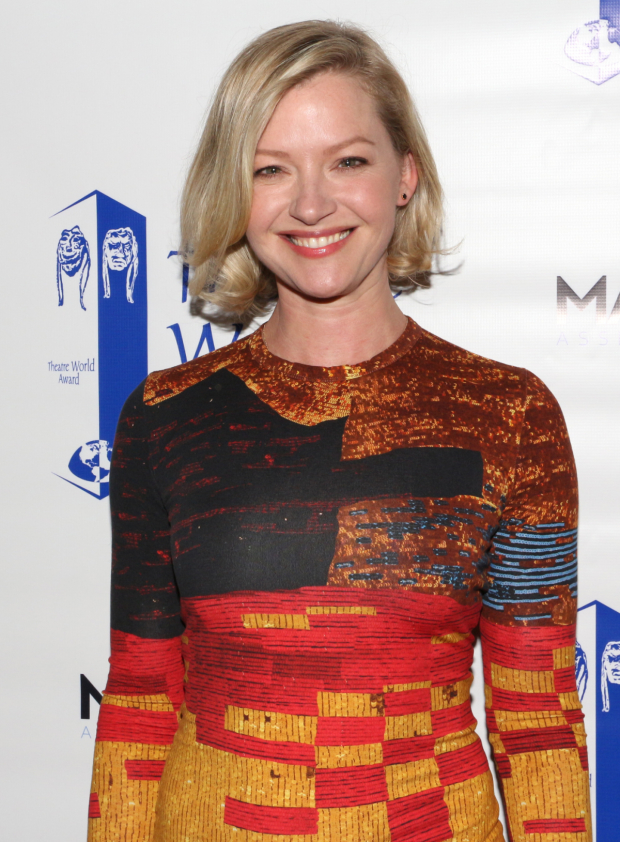 <p>Past winner Gretchen Mol (<em>Disgraced</em>) is on hand to present.</p><br />(© David Gordon)