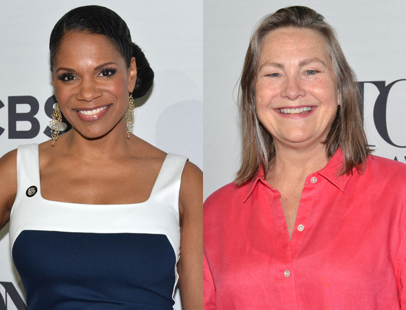 <p>Past winners Audra McDonald (<em>Lady Day at Emerson&#39&#x3B;s Bar and Grill</em>) and Cherry Jones (<em>The Glass Menagerie</em>) go head to head in the Best Actress in a Play category.</p><br />(© David Gordon)