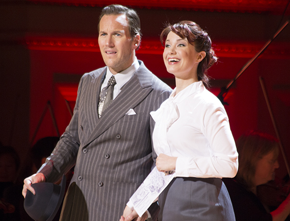 <p>Patrick Wilson and Sierra Boggess head to Havana.</p><br />(© David Gordon)