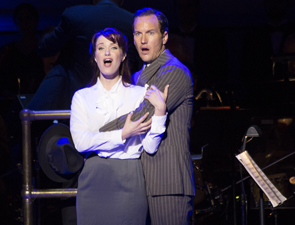 <p>Patrick Wilson and Sierra Boggess share &quot&#x3B;I&#39&#x3B;ve Never Been in Love Before.&quot&#x3B;</p><br />(© David Gordon)