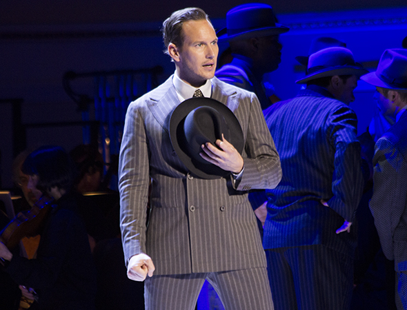 <p>Patrick Wilson goes back to his musical-theater roots as Sky Masterson.</p><br />(© David Gordon)