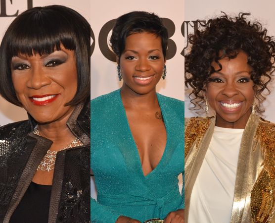 <p>Patti LaBelle, Fantasia Barrino, and Gladys Knight offered a performance on behalf of the Tony-nominated <em>After Midnight</em>.</p><br />(© David Gordon)